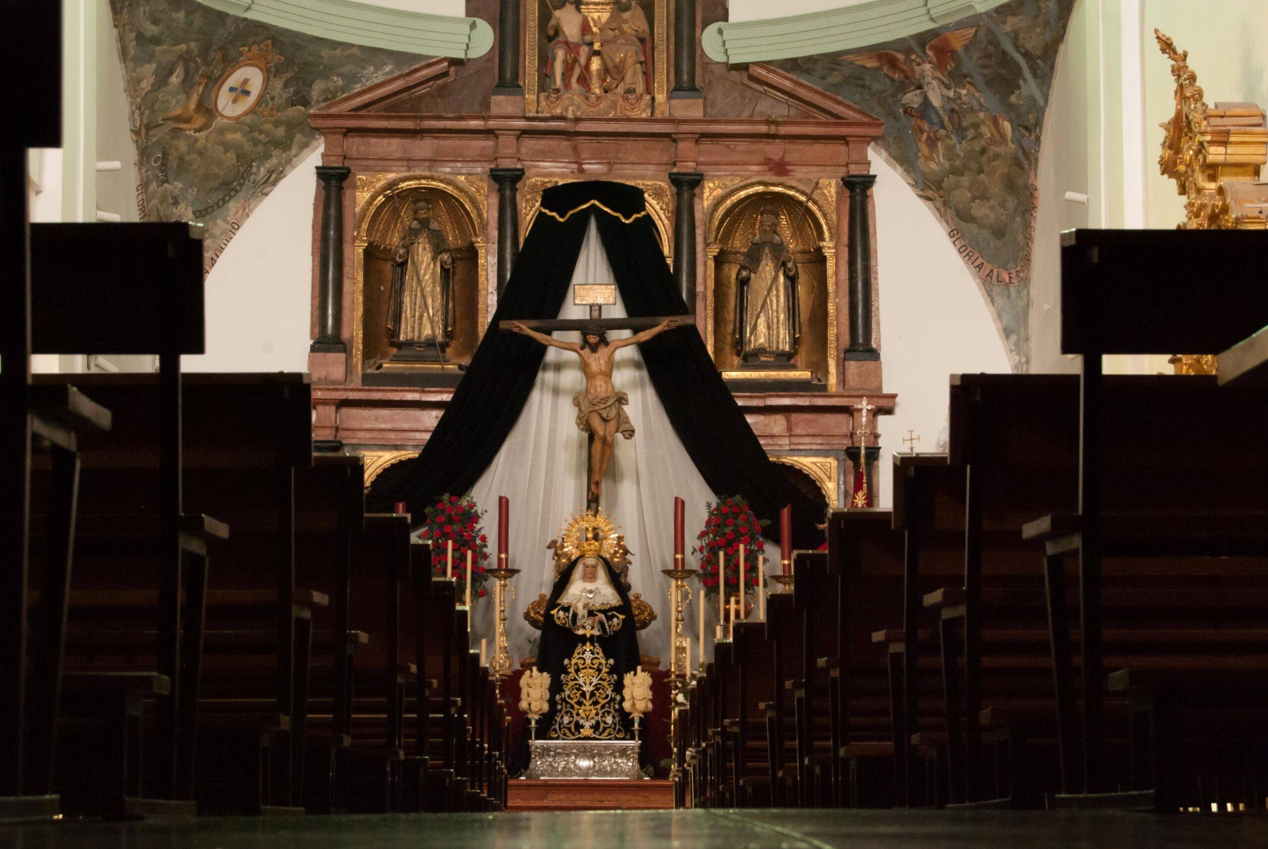iglesia conventual de la stma trinidad la rambla