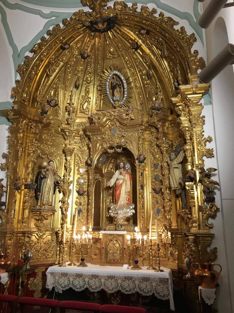 capilla del sagrario convento los trinitarios la rambla